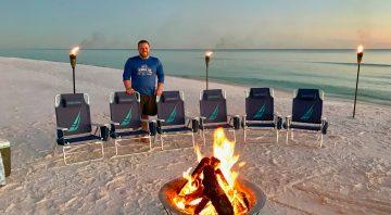 30A Beach Bonfires