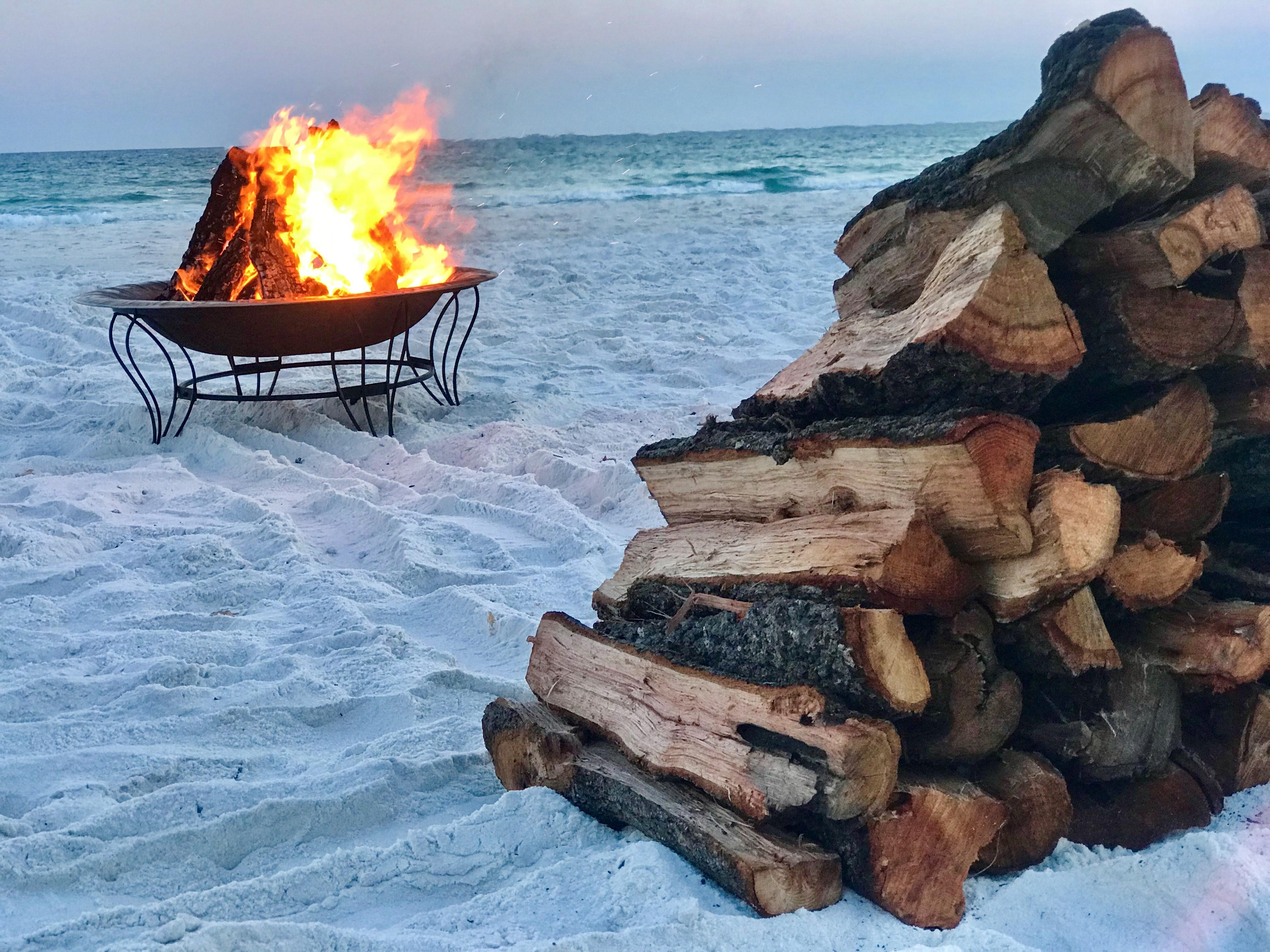 30a Beach Bonfires Think Local